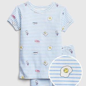NEW!!  BabyGap Breakfast Short PJ Set